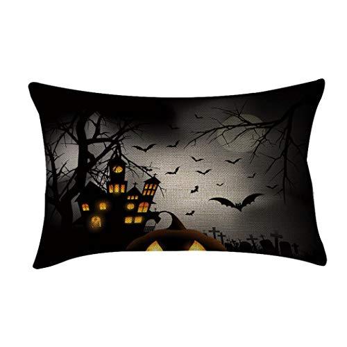 Ears Halloween Wohnkultur Halloween Schlafsofa Dekoration Festival Kissenbezug Kissenbezug (20x23 Zoll)