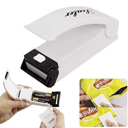 KINEGIC Portable Mini Heat Sealing Machine Impulse Sealer Seal Packing Plastic Bag Tool (Multicolor)