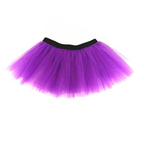 Dreamdanceworks - Jupe de sport - Femme Taille Unique Violet
