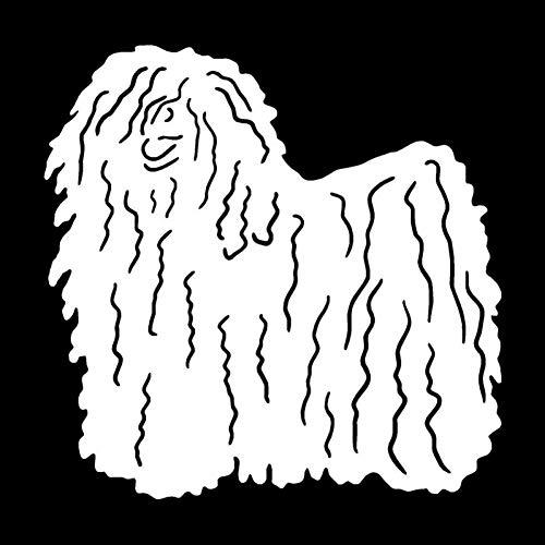 DYTE Tier Aufkleber 12,7 * 12,7 cm Ungarischen Hund Klassische Motorrad Auto Aufkleber Individuelle Auto Abdeckung Scratch Dekorative Aufkleber -