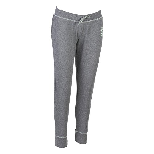 French Terry Classic Fit Pant (Browning Women's Sweatpant, Shasta, Gray, Size X-Large)