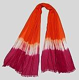 Polipilla Ladies Modal tie & dye scarf w...