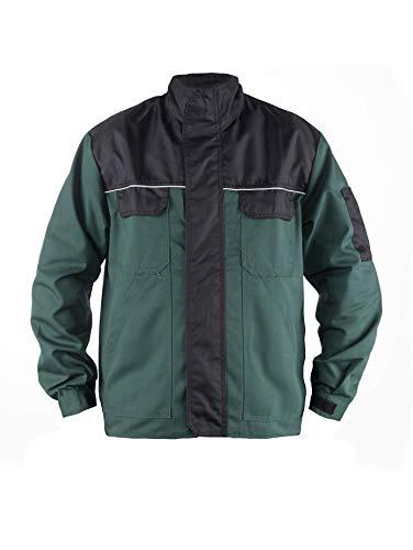 Tmg® giacca da lavoro per giardinaggio - uomo - leggera e resistente - verde xl