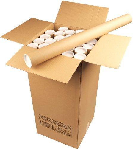 Ambassador - Tubo para envío postal de documentos (cartón, 50 x 890mm, 25 unidades)