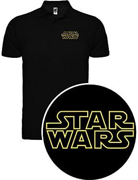 The Fan Tee Polo de Mujer Star Wars Dark Vader Han Solo Fuerza Moul Leia