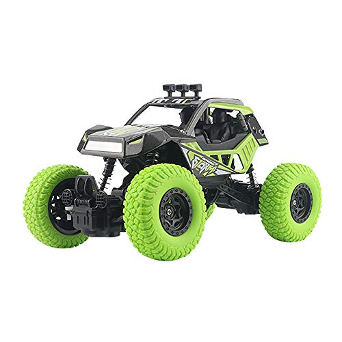 Ferngesteuertes Auto RC Auto 1:12 Skala 2,4 GHz RC Racing Buggy Auto Offroad Elektro High Speed Monster Truck Rennen Crawler 2WD 50M Entfernung Fahrzeug Spielzeug Radio gesteuertes Auto,Green (G-skala-modelleisenbahnen)