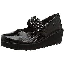 Amazon Es Zapatos Mujer 24 Horas Negro