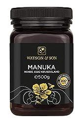 Watson & Son Manuka-Honig MGO 200+, 1er Pack (1 x 500 g)