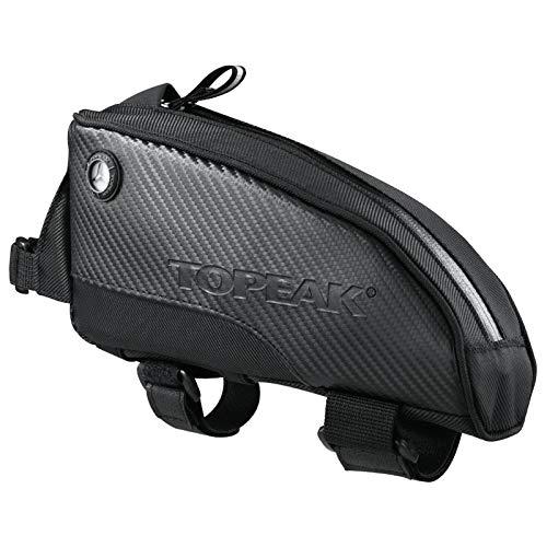 TOPEAK Fuel Tank Fahrrad Oberrohr Tasche Schwarz Smartphone Energieriegel Werkzeug Rennrad Kompakt, fueltank, Größe Large