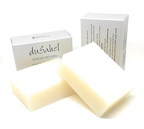 dusahel-2-unites-de-savon-naturel-a-base-de-bave-descargot-lot-de-2-savons-poids-100g-la-piece