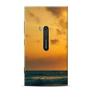 Mobile Back Cover For Microsoft Lumia 920 (Printed Designer Case)