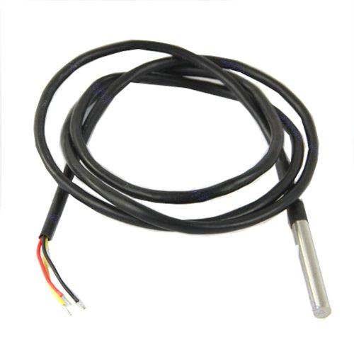 Digitale Edelstahl Temperatur Sensor Fühler Temp DS18B20 für Thermometer wasserdicht