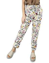 aaf55cd71872 pantaloni fiori - Donna: Abbigliamento - Amazon.it