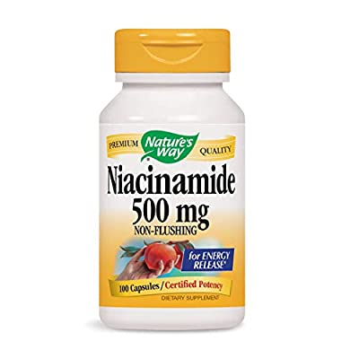 Natures Way, Niacinamide, 500 Mg, 100 Capsules by Natures Way