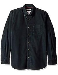 Marca Amazon – Goodthreads – Camisa de pana de corte estándar de manga larga para hombre