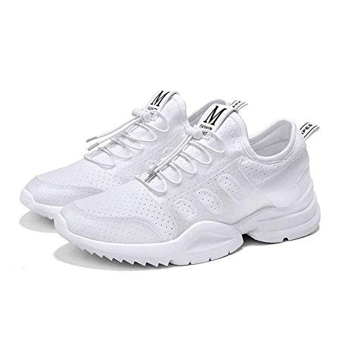 Entrenador XUEQIN Zapatos masculinos Zapatos de marea plana para hombres Zapatos Personalidad Niños Air Cushion Running Zapatos Desodorante Zapatos (Tamaño : EU42/UK8.5/CN43)