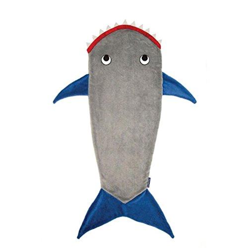 Rong Kids Shark Schwanz Lap Wurfdecke Snug Rug Bett Kinder weiche - Kostüm Valentine Kinder