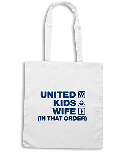 T-Shirtshock - Borsa Shopping WC1075 southend-united-kids-wife-order-tshirt design Bianco