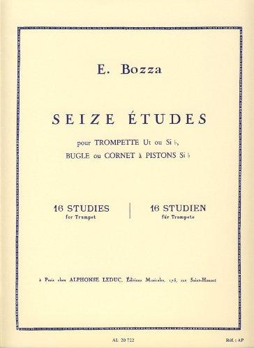 eugene-bozza-16-studies-trumpet-bugle-cornet