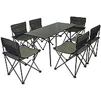 XD-Tavolino pieghevole portatile all'aperto sedia set combinazione picnic campeggio e tempo libero gardens Park , 2# , sets