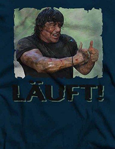 Laeuft 57 T-Shirt S-XXL 12 Colori / Colours Blu Oltremare