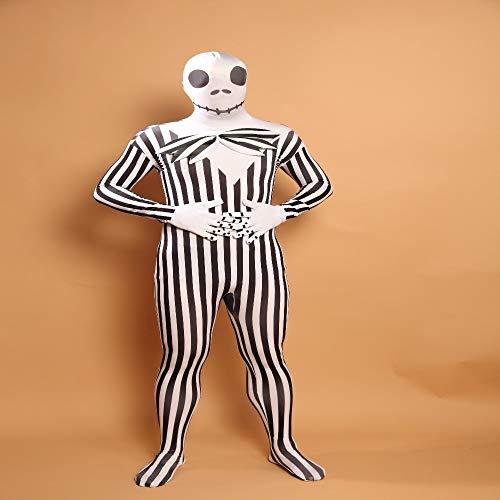 Ghost Gent Kostüm - WYPANCMens Zombie Kostüm Ghost Cosplay Mens Dress Up Kleidung
