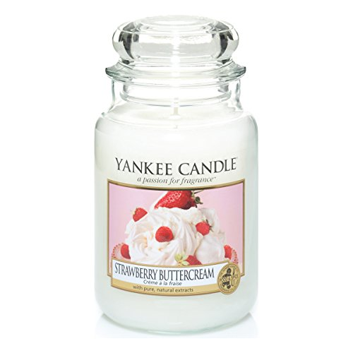 Yankee Candle Strawberry Buttercream Jar Candle - Large