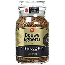 Douwe Egberts Pure Indulgence Instant Coffee, 190g (Pack of 6)