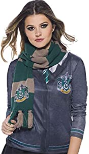 Harry Potter Deluxe Bufanda Slytherin, Multicolor, (Rubie