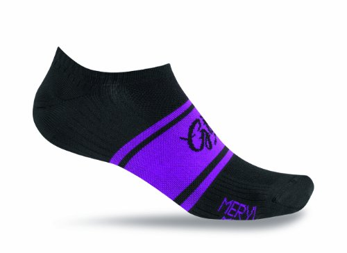 Giro Fahrradsocken Meryl Classic Racer Low Socken, Black/Rhodamine Clean, XL -