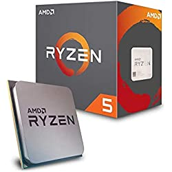 AMD Ryzen 52600x 6-Core 19MB Cache 95W Wraith spire Cooler-nero