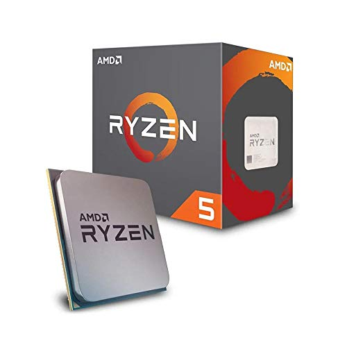 AMD YD2600BBAFBOX Prozessor RYZEN5 2600 Socket AM4 3.9Ghz Max Boost, 3,4Ghz Base+19MB - 7 Windows Computer-monitor