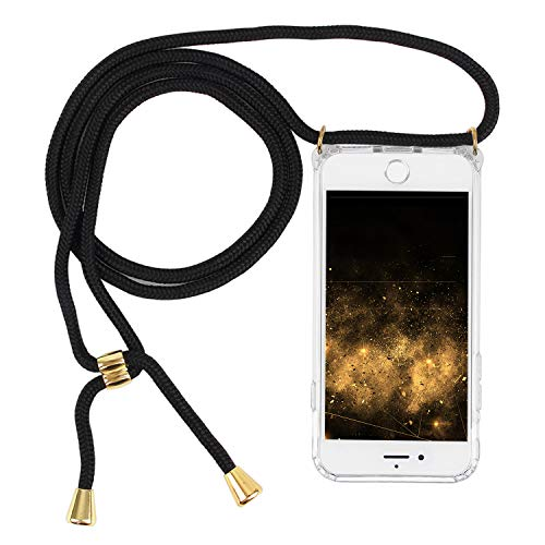 Imikoko Handykette Hülle für iPhone 7/8 Necklace Hülle mit Kordel zum Umhängen Silikon Handy Schutzhülle mit Band - Schnur mit Case zum umhängen