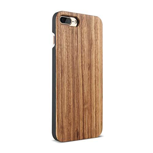 ZXZZ Holzabdeckung Für iPhone 7 X Xr Xsmax Fall Natürliche Bambus Holz Phone Cases Für iPhone 8 6 6 S Plus 5 S Se 5,Zebra-Holz,Für das iPhone X - 5 X 8 Zebra