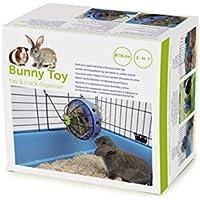 Savic 0195 Bunny Toy Ø 16 cm, blau-schwarz