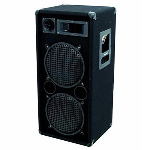 Omnitronic DX-2022 - Altavoces (25 cm, 400W, 800W, 45-20000 Hz, 15 kg,...