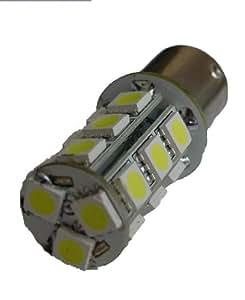 Autoled 0034 2 Ampoules P21W Clignotant (18 Pastilles SMD5050) BA15S - Orange