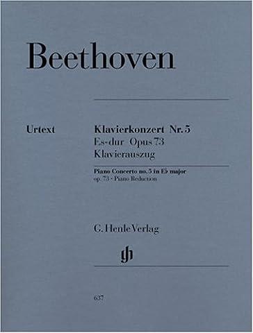 Concerto for Piano and Orchestra no.5 E flat major op.73 - piano and orchestra - piano reduction for 2 pianos - (HN