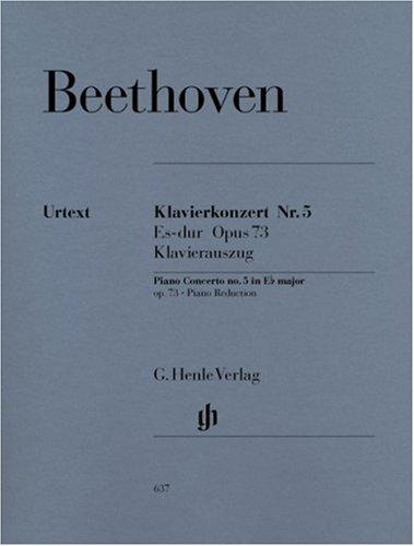 Concerto pour piano N° 5 Op.73 Mib Maj. : Réduction pour 2 Pianos par Beethoven