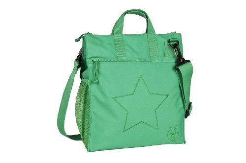Lässig LBB15075 Kinderwagen-/Wickeltasche Casual Buggy Bag Star, deep green