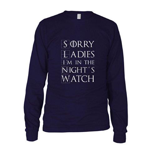 GoT: Sorry Ladies - Herren Langarm T-Shirt Dunkelblau