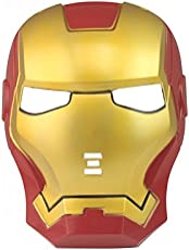 "Anokhe Collections Marvel Legends ""Iron Man Cosplay"" Mask for Costume Parties, Cosplays and Dress Ups (Multicolour)"