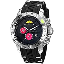Elenxs Multi-function Quartz Watch Waterproof Luminous Running Men's Wrist Watch BLR