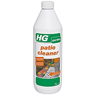 HG Patio Cleaner 1L – a concentrated patio cleaner for effective cleaning of garden tiles