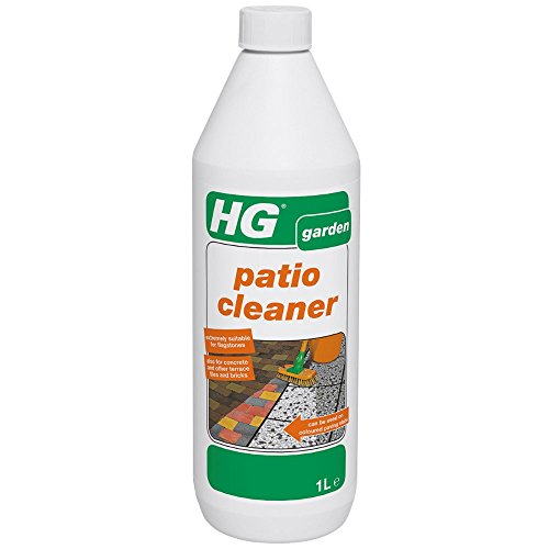 HG Patio Cleaner 1L - a concentrated patio cleaner for effective cleaning of garden tiles