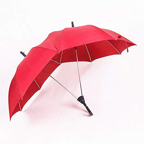 GKPLY Paraguas Doble Pareja Paraguas Doble Polo Largo