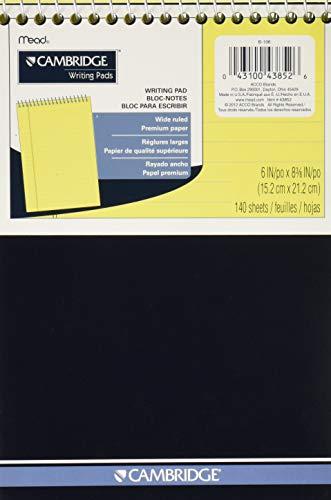 Cambridge Schreibblock, 140 Blatt, 15,2 x 22,9 cm