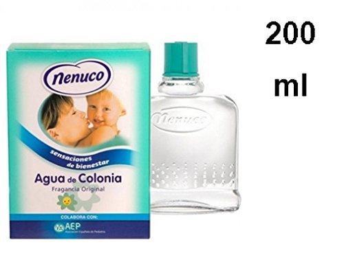 Nenuco Eau de Cologne für Kinder, Unisex, Glasflasche – Original - 200 ml