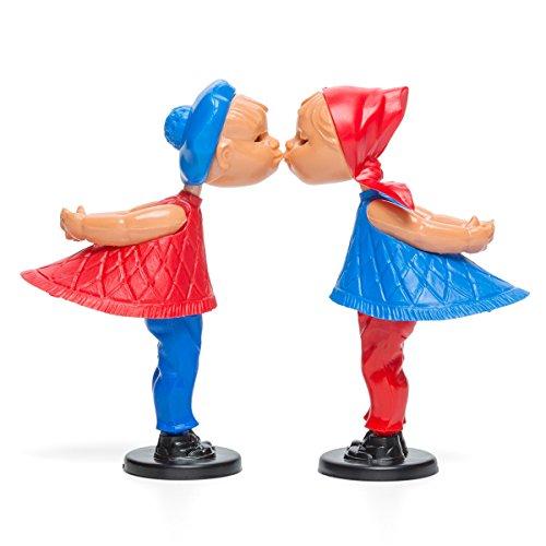 corpus delicti :: Magnetische Kusspuppen - Kissing Dolls - Geschenk zur Hochzeit, Verlobung, zum Hochzeitstag, Valentinstag, Geburtstag, Kennenlerntag und Alles rund um Liebe (Romeo & Julia)