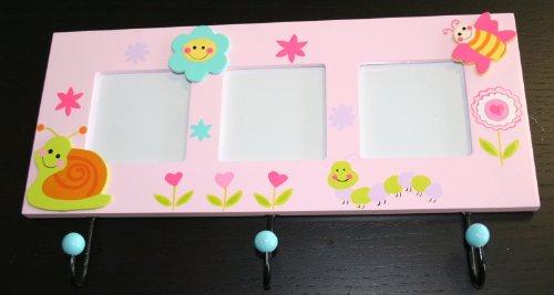 perchero-de-pared-con-motivos-infantiles-y-3-marcos-para-fotos-madera-326-x-185-x-35-mm-color-rosa